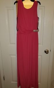 pink gown nwt size 10